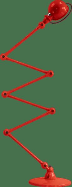 Jielde-Loft-D9406-vloerlamp-Rood-RAL-3020