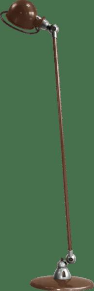 Jielde-Loft-D1200-vloerlamp-Chocolade-RAL-8017-Hoogglans-Gepolijst