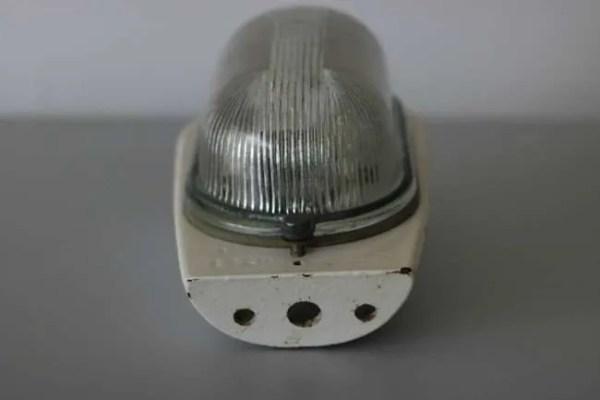 franse wandlamp bunkerlamp front BINK lampen bevestiging