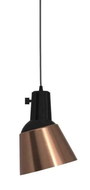 K831 bauhaus verstelbare hanglamp massief koper