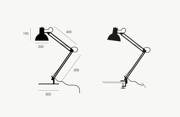 Midgard bureaulamp BINK specificatie