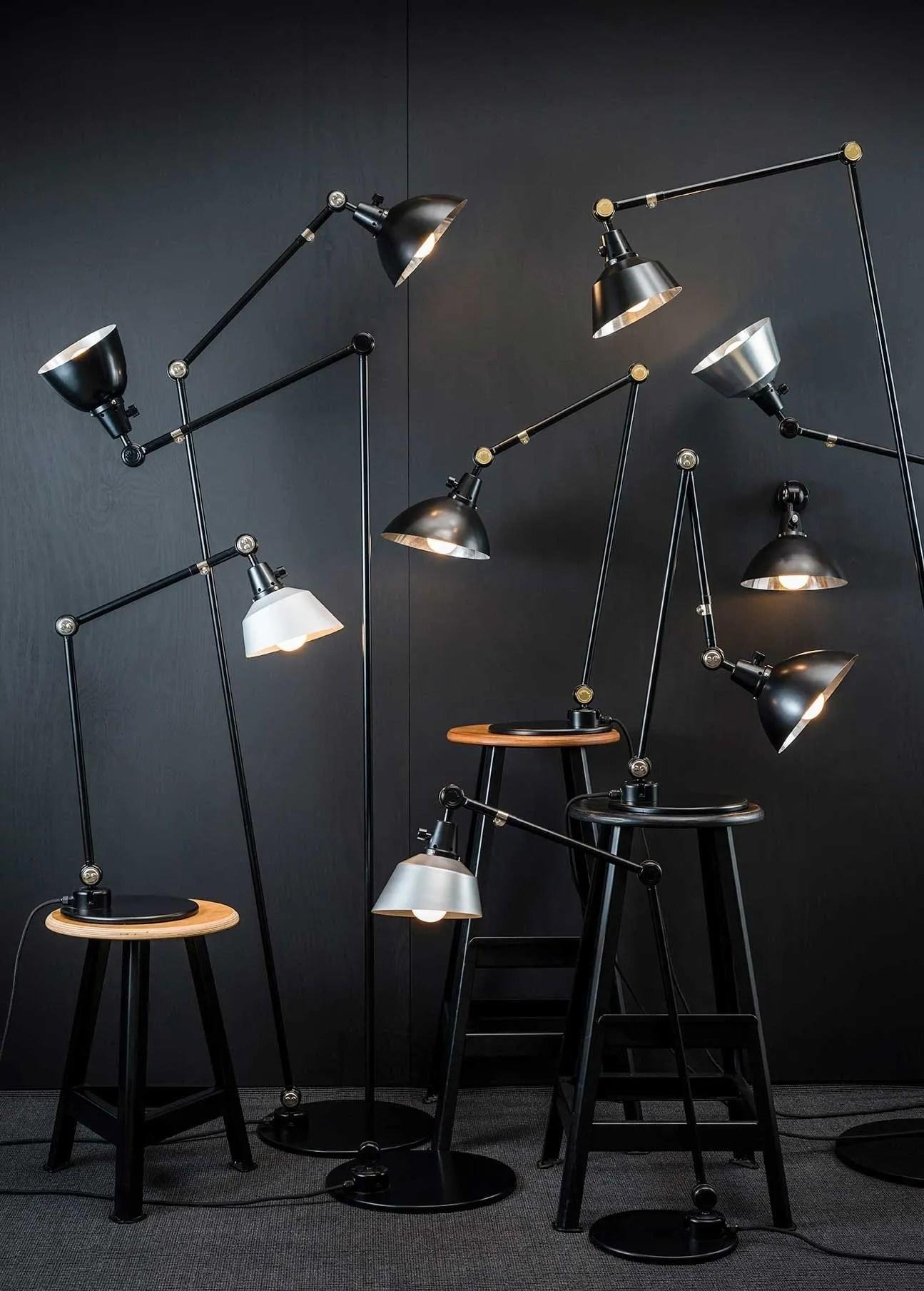 Midgard vloerlamp modulair totaal