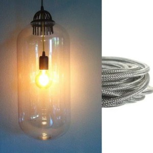fust hanglamp BINK lampen zilver