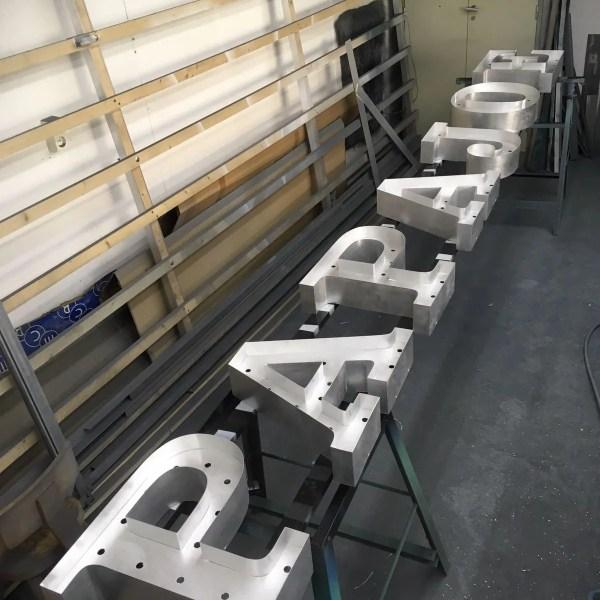 letterlampen project papa joe BINK