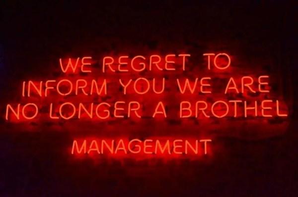 neon we regret to inform you