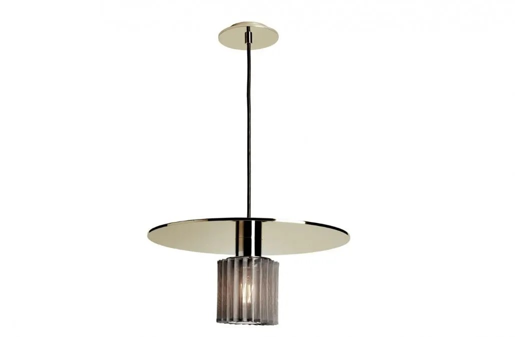 in the sun hanglamp 38 cm goud zilver