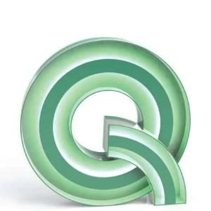 Delightfull letterlamp Q front