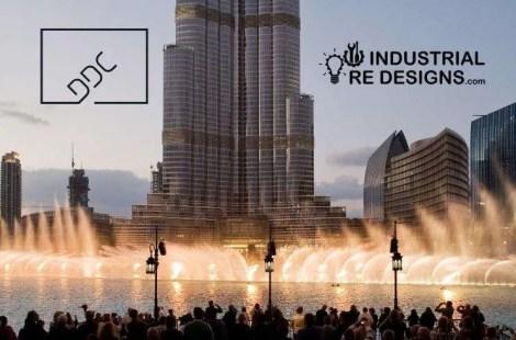 Onze lampen bij Dutch Design Center Dubai