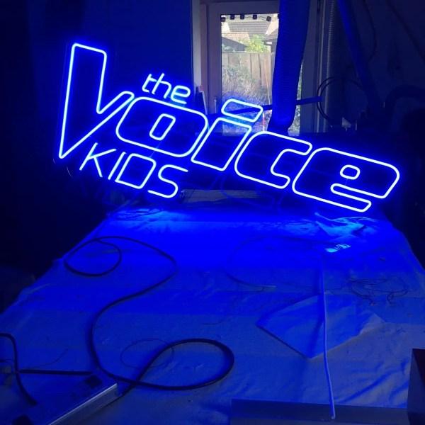 The Voice kids project BINK lampen