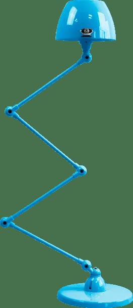 jielde-Aicler-AID433-vloerlamp-lichtblauw-RAL5012-rond