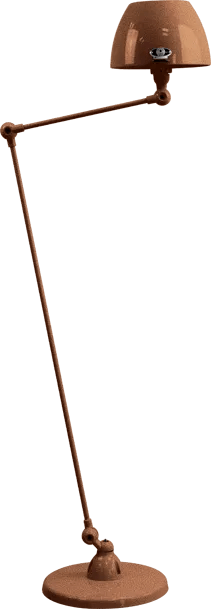 jielde-Aicler-AID833-vloerlamp-hamerslag-koper-CUM-rond