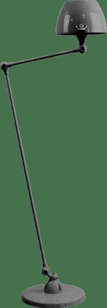 jielde-Aicler-AID833-vloerlamp-hamerslag-zwart-NOM-rond