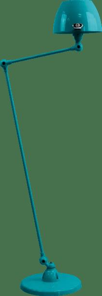 jielde-Aicler-AID833-vloerlamp-oceaan-blauw-RAL5020-rond