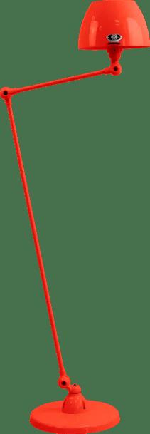 jielde-Aicler-AID833-vloerlamp-rood-RAL3020-rond
