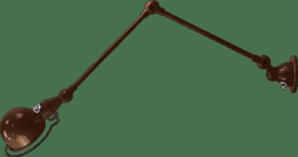 jielde-signal-SI331-wandlamp-hamerslag-koper