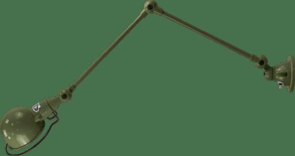 jielde-signal-SI331-wandlamp-olijf-groen-RAL6003