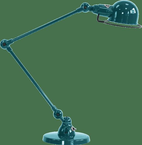 jielde-signal-SI333-bureaulamp-oceaan-blauw-RAL5020