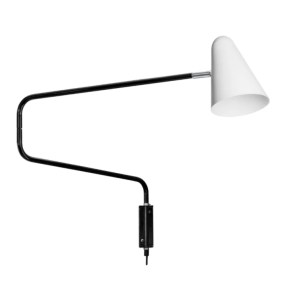 Retro-muurlamp-No.1701-De-cobra-Anvia-BINK-wit