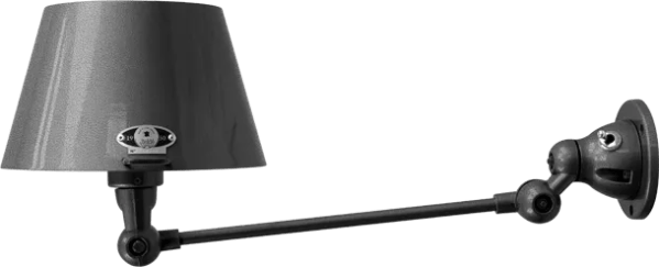 jielde-Aicler-AID301-wandlamp-hamerslag-zwart-NOM