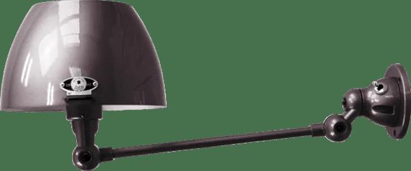 jielde-Aicler-AID301-wandlamp-zwart-RAL9011-rond