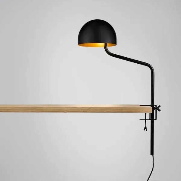 zwart-goud-tafelklem-klemlamp-officer-revolt-BINK-leiden-lamp