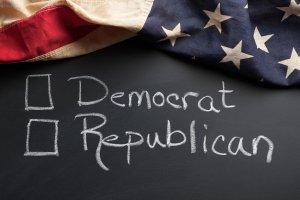 Republican Democrat vote