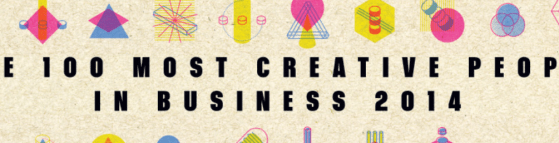 100 most creative people in business