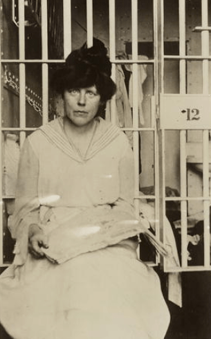 Suffragists like Lucy Burns were often jailed for protesting and advocating for the right to vote for women. Image: Roni via Flickr CC