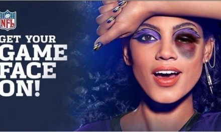 CoverGirl 'Game Face' Becomes Part of NFL Violence Trends