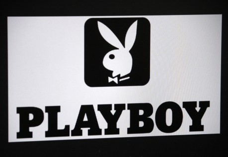 The Playboy logo.