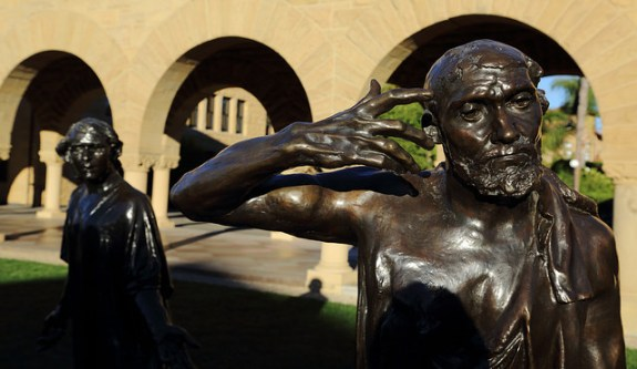 Even Rodin's usually obdurate Burghers Of Calais on Standford's University campus would be moved by the school's impressive investment returns during 2015.