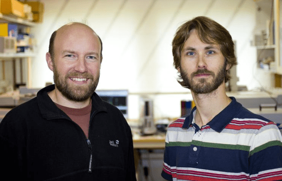 David Bastviken and Magnus Galfalk have developed a technique to study methane with photography.