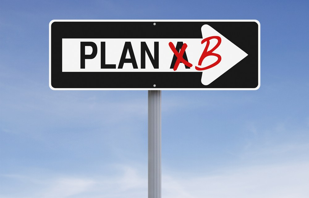 Backup Plans Might Be Holding You Back