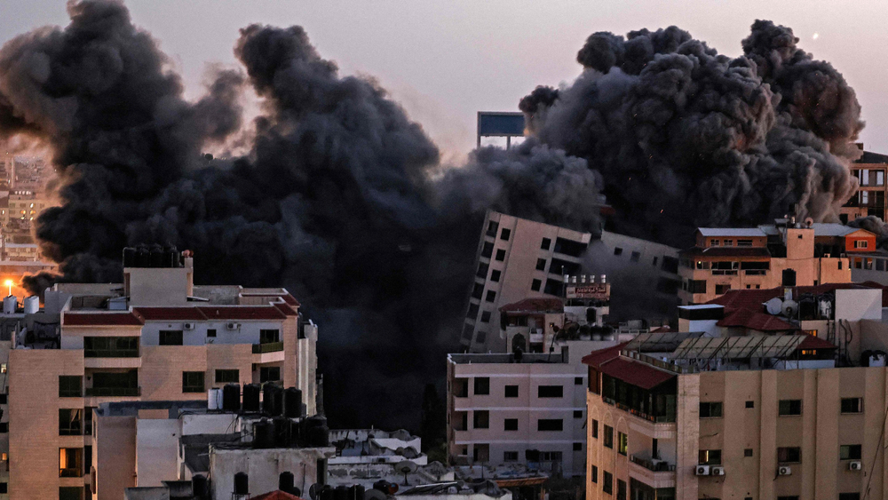 Airstrike Destroys AP Offices in Gaza City