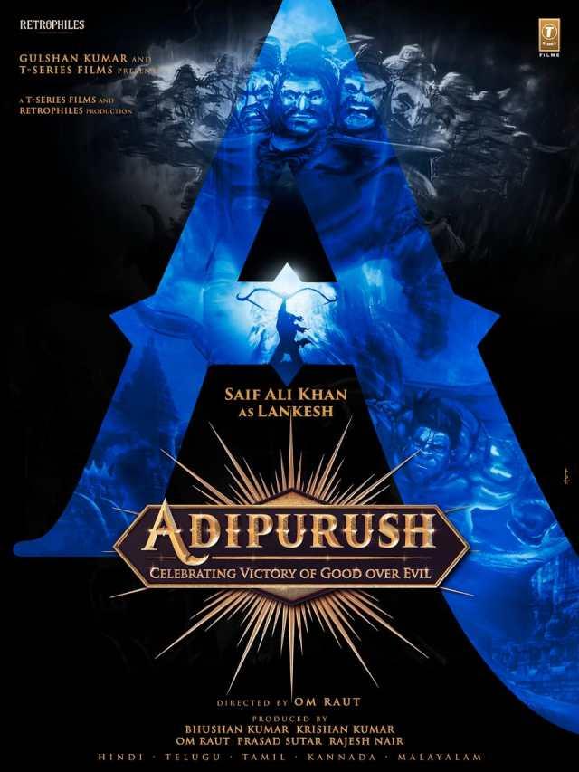 "Rebel Star Prabhas Movie ""Adhipurush"" Latest update - Saif Ali Khan To Return As The Menacing Villain One More Time For Om Raut's Directorial Adipurush Produced By Bhushan Kumar"