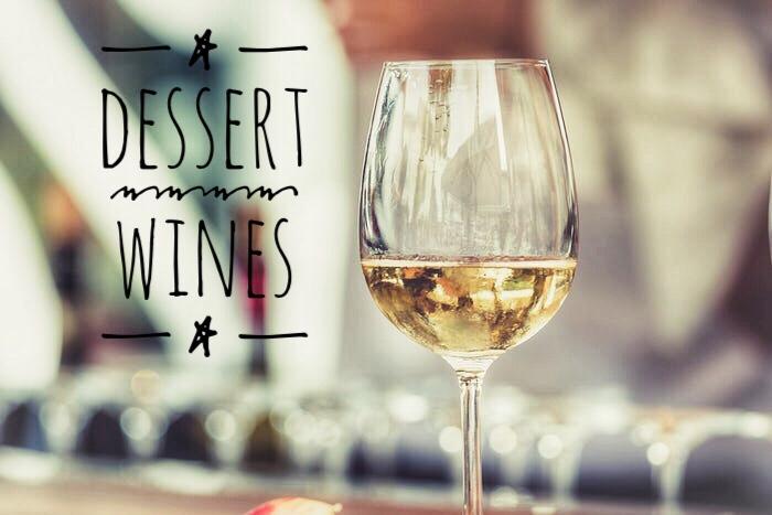 dessert wines for the summertime