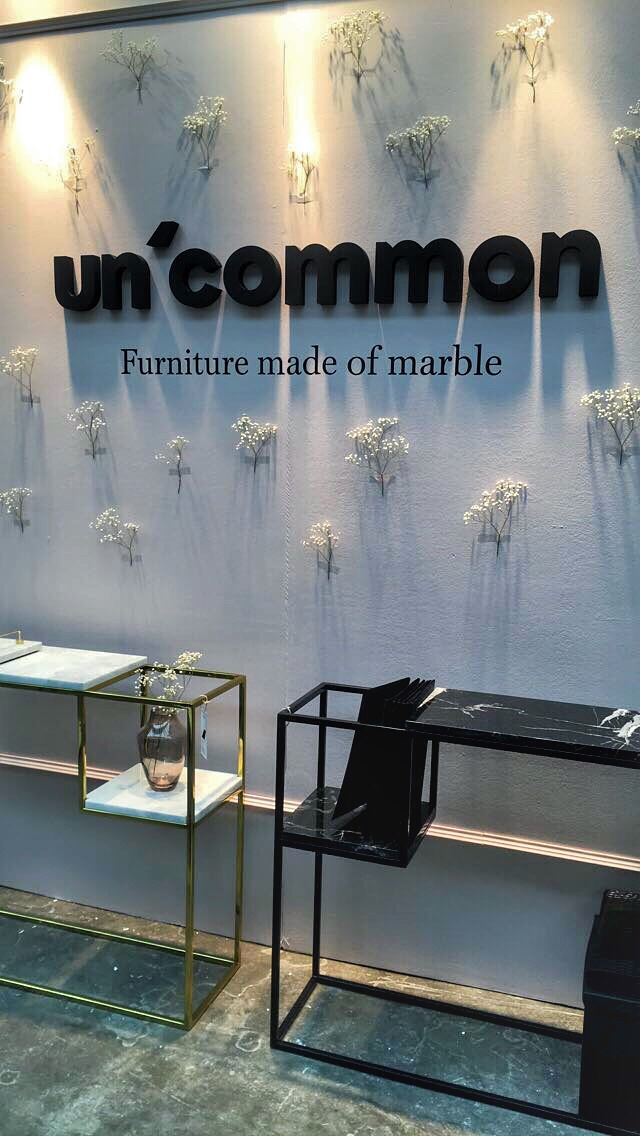 Un'common at the London Design fair 2018