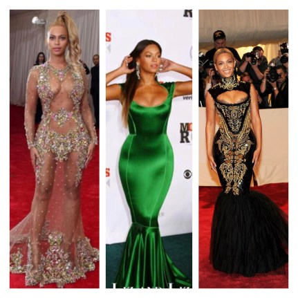 Some of Beyoncé's signature looks