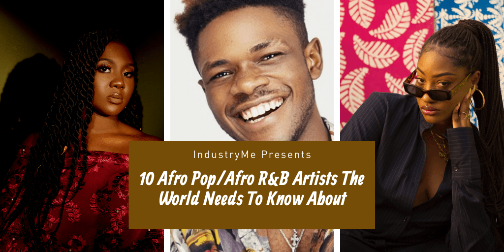 afro pop afro rnb artists