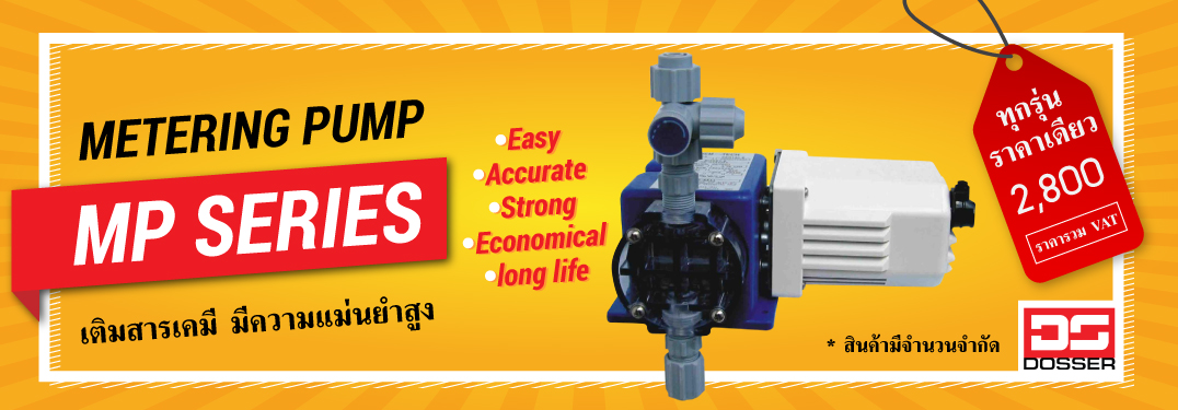metering pump Dosser MP series