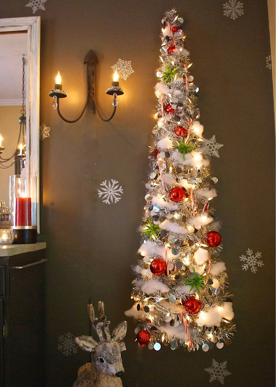 17 Unique Christmas Tree Alternatives Just To Be Different