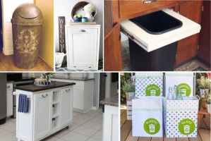 8 Creative Trash Can Ideas for a Small Kitchen