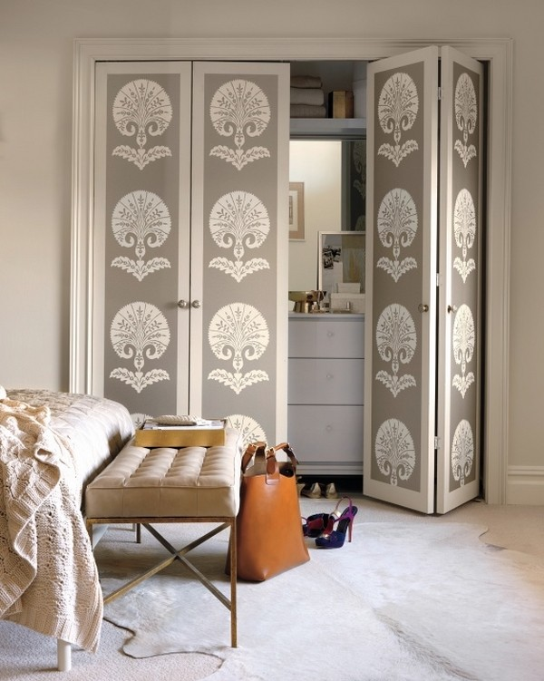 There are many ways to decorate. 14 Creative Closet Door Ideas That Will Change the Way You
