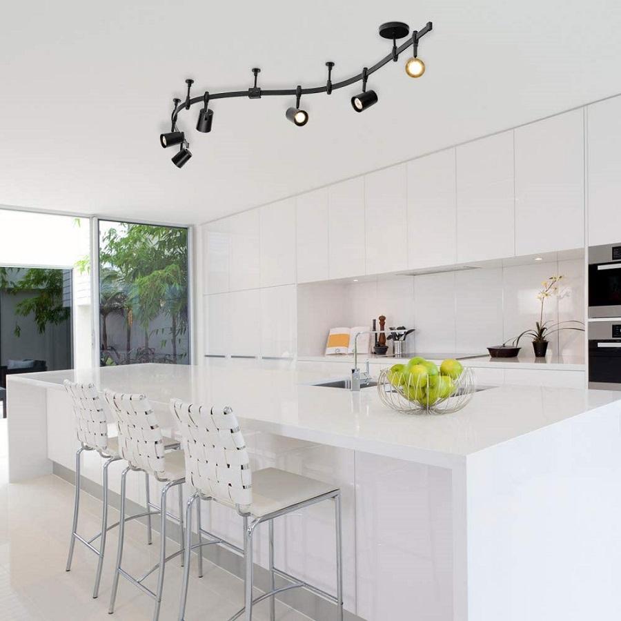 beautiful kitchen track lighting ideas