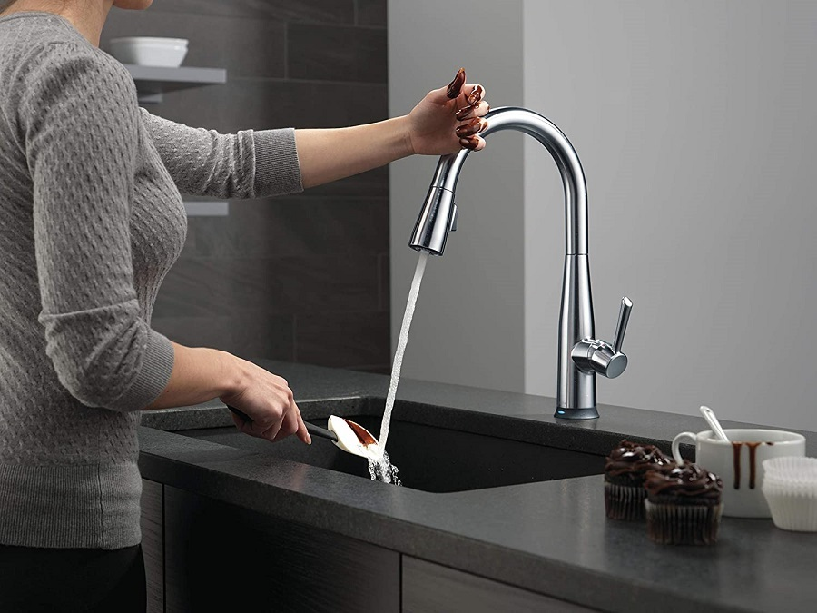 best touch on kitchen faucets