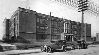 Screen GraB from PBS Documentary,Attucks: The School That Opened a City