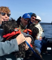 Mary, Larry, Gillis and Gordon, Gary and Donna, Shoreline Charters