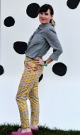 Banana Stand Pants by Katie Kortman