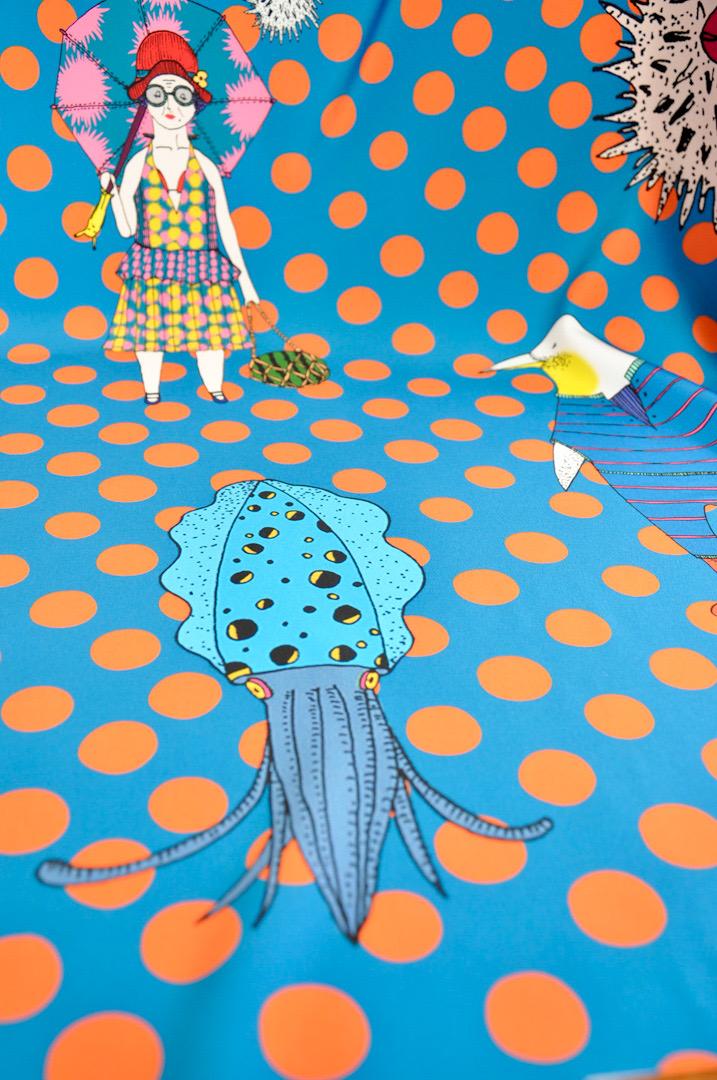 Mannine Japanese designer fabric