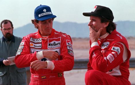 Fittipaldi y Senna (FOTO: Archivo)